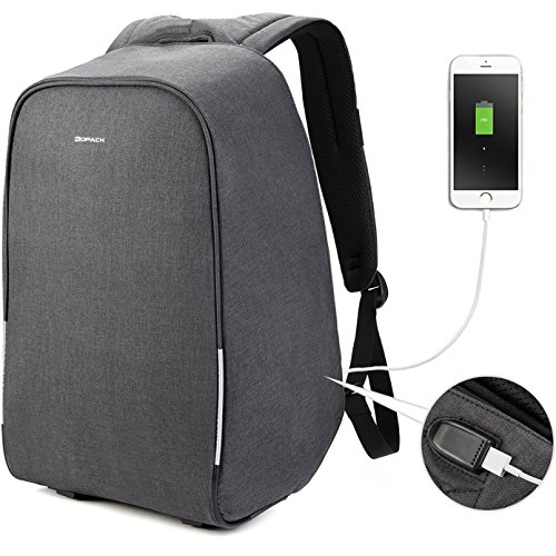 kopack 17 inch Anti Theft Laptop Backpack Waterproof Travel