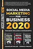 SOCIAL MEDIA MARKETING FOR BUSINESS 2020: Beyond 2019 With The Ultimate Mastery Workbook For Beginners, Make Money Online With Affiliate Program,Use Your Branding On Facebook Twitter Instagram Youtube