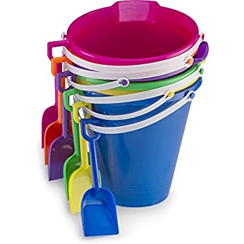Amazon Com American Plastic Toys 8 Quot Pail And Shovel