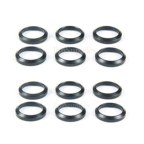 TACFUN 12 PCS Steel Crush Washers for 5/8
