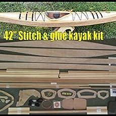 Amazoncom 54 Canoe Model Kit Red Cedar Deluxe Handmade