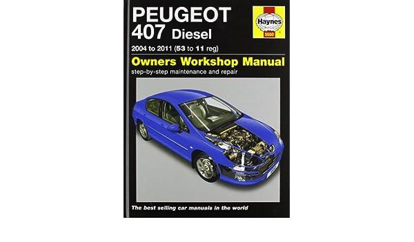 Peugeot 407 diesel service and repair manual 2004 2011 haynes peugeot 407 diesel service and repair manual 2004 2011 haynes service and repair manuals peter t gill 9780857335500 amazon books fandeluxe Gallery