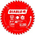 Freud D0740A Diablo 7-1/4 40 Tooth ATB Finishing Saw Blade with 5/8-Inch Arbor, Diamond Knockout, and PermaShield Coating by Freud