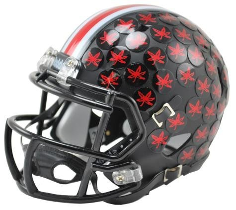 Ohio State Riddell Mini Helmet (Ohio State Buckeyes Black Mini Helmet)