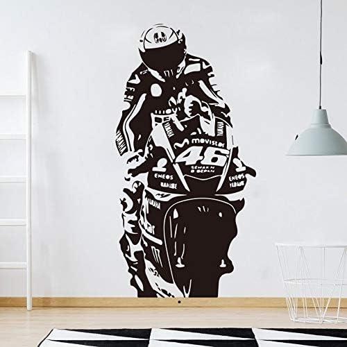 Valentino Rossi Etiqueta de la Pared Mural VR Doctor Motor GP Race ...