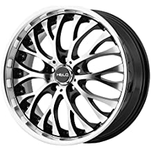 "Helo HE890 Gloss Black Wheel with Machined Face (20x10""/5x120mm, +40mm offset)"