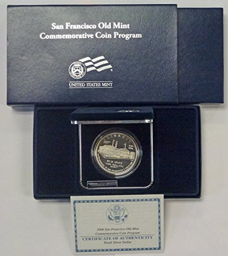 2006 S San Francisco Old Mint Silver Proof $1 OGP US Mint
