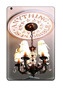 New Design Shatterproof Ipad Case For Ipad Mini/mini 2 Iron Lampshade Chandelier With Ceiling Medallion