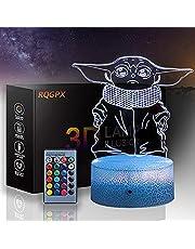 Nachtlampje voor Kids Star Wars 3D Licht lamp 3D Visuele Illusie LED Lamp voor Kids Speelgoed Kerstmis Verjaardagscadeaus