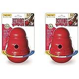 KONG Wobbler Treat Dispensing Dog Toy ( 2 Pack)