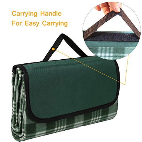 Check Out This Sunshine Outdoor Waterproof Picnic Blanket Portable Plastic folding Travel Blankets F...