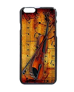 Violin Collection Pattern Hard Durable Cover Case for Apple iPhone 6 4.7-inches