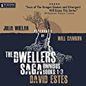The Dwellers Saga Omnibus: Books 1-3 Audiobook by David Estes Narrated by Julia Whelan, Will Damron