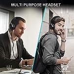 TECKNET-Cuffie-Wireless-Bluetooth-Cuffie-Over-Ear-Bluetooth-50-con-Bassi-di-Alta-Qualit-e-Modalit-WirelessCablata-Compatibile-con-Phone-Pad-Samsung-Huawei-PC-TV