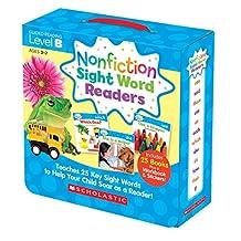 Nonfiction Sight Word Readers Parent Pack Level B