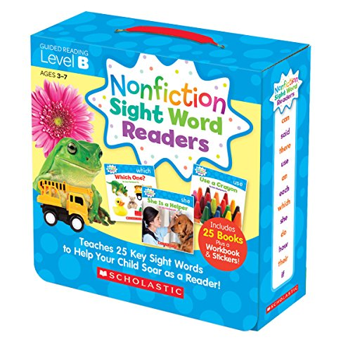 Nonfiction Sight Word Readers Parent Pack Level B: Teaches 25 key Sight Words to Help Your Child Soar as a Reader! (Nonfiction Sight Word Readers Parent Packs) (Readers Word Family)