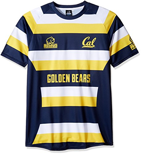 (Rhino Rugby Cal Golden Bears Replica Away Jersey, Medium)