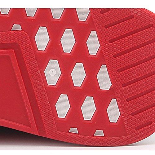 scarpe Sportive Scarpe EU42 Marea 5 Nero dimensioni accogliente Inverno UK8 Di Da Nero Scarpe Uomo CN43 Jogging Colore Scarpe LVZAIXI dvqZXd