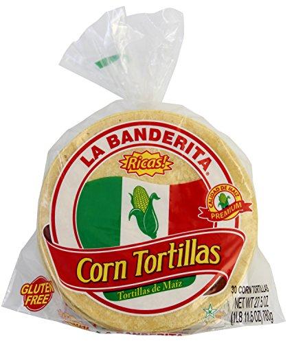 6 corn tortillas - 3