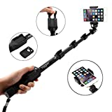 i-smile Ultra Compact Foldable Self-portrait Monopod Extendable Wireless Selfie Stick with built-in Bluetooth