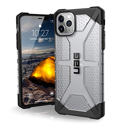 UAG Designed for iPhone 11 Pro Max [6.5-inch Screen] Plasma Feather-Light Rugged [Ice] Military Drop Tested iPhone Case