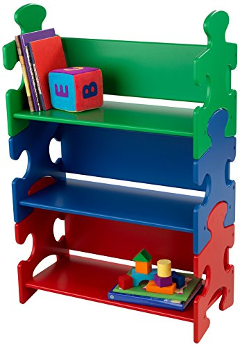 Kidkraft Puzzle Book Shelf - Primary ()