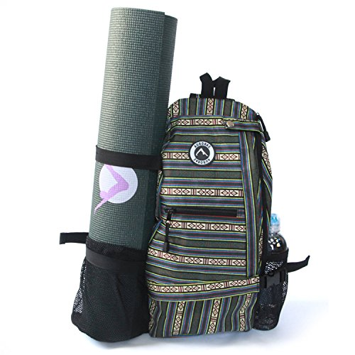 Aurorae Yoga Multi Purpose Cross-body Sling Back Pack Bag. M
