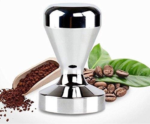 Bluefun Espresso Coffee Tamper - Stainless Steel American Convex Base Coffee Bean Press (51mm)