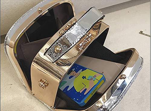 Shoulder Women Leather Camera Clutch Snapshot Grey Handbag Tote PU Shaped Qiulv Crossbody Messenger Bag YBvIwq