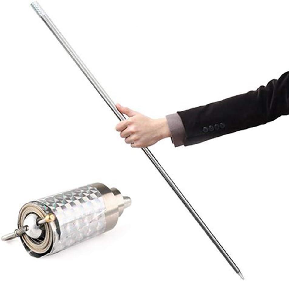 Metal Staff Portable Professional Magic Wand Magic Telescopic Props Funny Staff Martial Arts Metal Magic Pocket Magic wand Magic Games for Adults