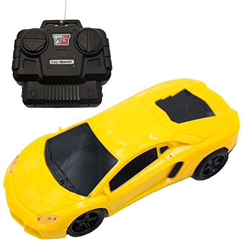 Yellow Sports Car - 6