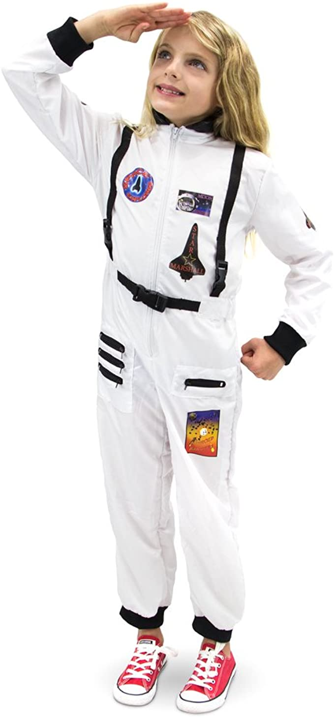 Adventuring Astronaut Children/'s Halloween Dress Up Theme Party Roleplay Costume