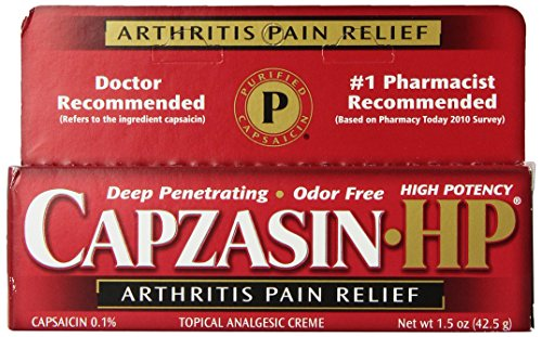 Capzasin-HP Arthritis Relief Topical Analgesic Cream, 1.5-Ounce Tubes (Pack of 2) (Cream Relief Topical Analgesic)