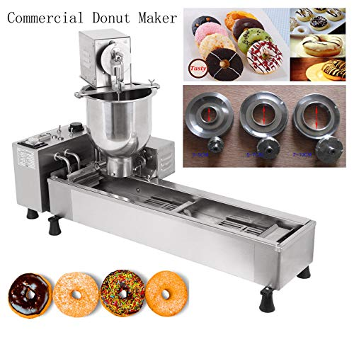 Ridgeyard Stainless Steel Commercial Donut Maker 3000 Watts