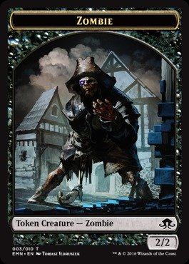 - Magic: the Gathering - Zombie Token (003) - Eldritch Moon