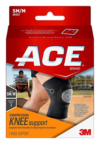 ACE Elasto-Preene Knee Support, Helps support weak or sore knee, Money Back Guarantee