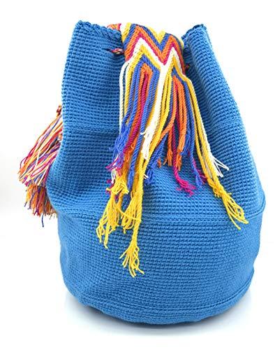à les les et Sacs à pour fois Nuevo STYLE la Handmade dos COLOMBIAN Wayuu Mundo colombiens main à femmes Sac hommes wS1TqxTv
