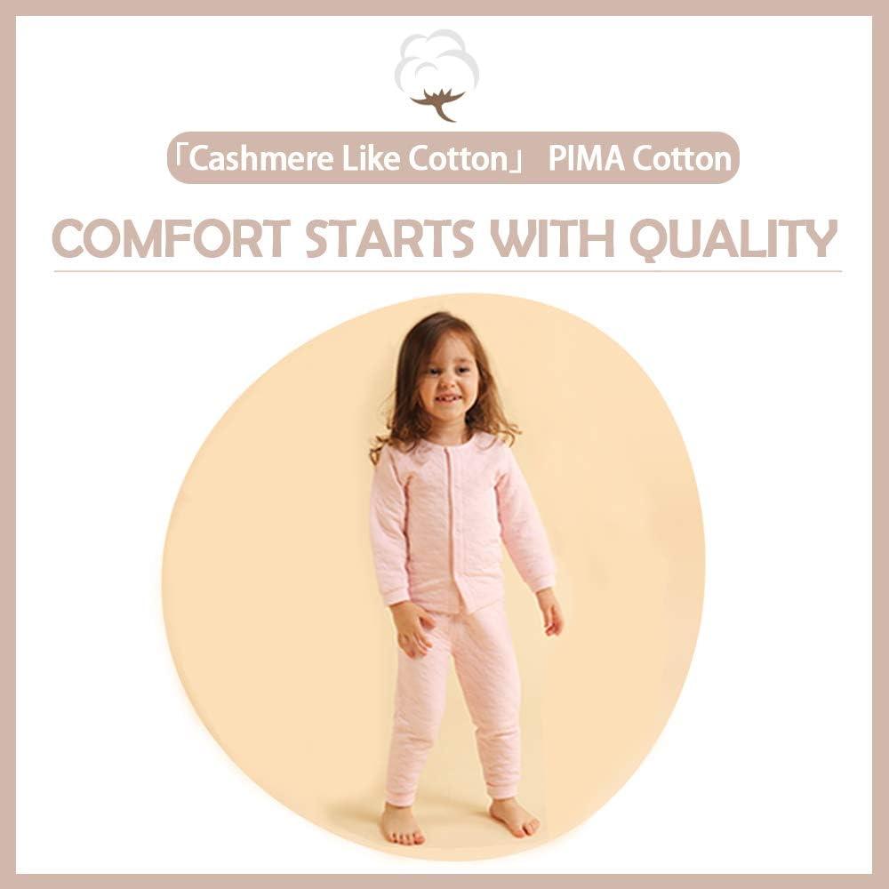 i-baby Conjunto de Traje de beb/é Ropa Ni/ños Ni/ñas Pijama de algod/ón Pima Premium Matelasse empacado en Caja