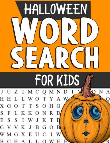 Halloween Word Search Puzzles for Kids: Spooky Halloween