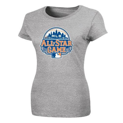 13 Official Logo Women's T-Shirt, Gray, Small (All Star Game Womens T-shirt)