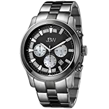 "JBW Men's JB-6218-A ""Delano"" Two-Tone Chronograph Diamond Watch"