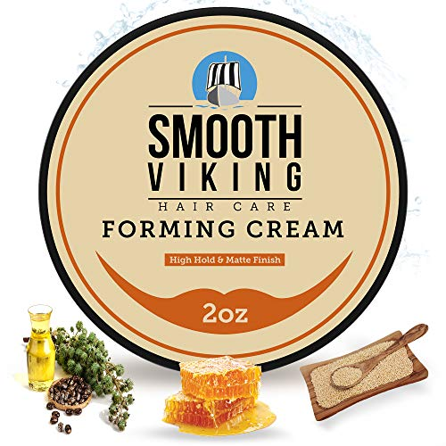 Smooth Viking Forming Cream for Men, High Hold and