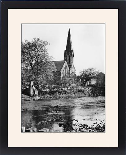 Framed Print Of Morpeth Church by Prints Prints Prints
