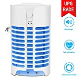MAEN Electric Indoor Bug Zapper, Mosquito Killer, Insect and Fly Zapper Catcher Killer Trap with UV Night Sensor Light for Home, Office and Patio Indoor Use
