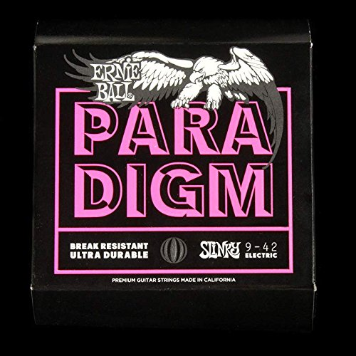 Ernie Ball 2023 Paradigm Electric Guitar Strings, Super Slin
