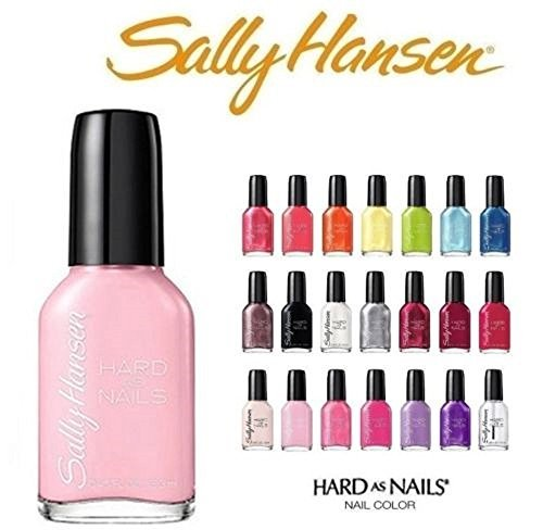 - Lot of 10 Sally Hansen Hard As Nails Finger Nail Polish Color Lacquer All Different Colors No Repeats