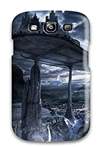 Brooke C. Hayes's Shop 2015 6651818K83267440 Fashion Case Cover For Galaxy S3(fantasy City Fantasy)