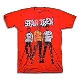 Star Trek Mens Classic Shirt Deep Space- Captain Kirk Spock Graphic T-Shirt