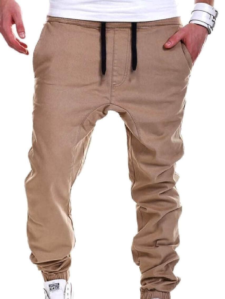 GAGA-men clothes PANTS メンズ B07GDDZ1GK カーキ X-Large