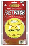 Markwort 12-Inch Fastpitch Softball Yellow Genuine Leather (Dozen)